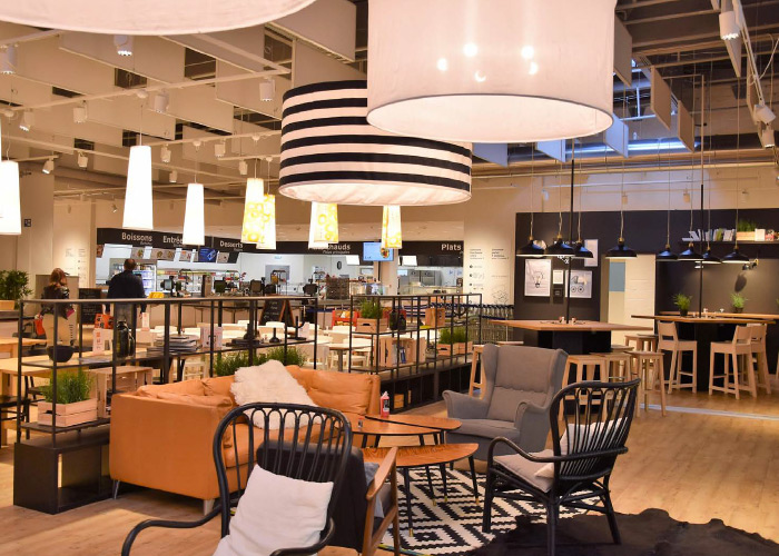 boutique restaurant ikea